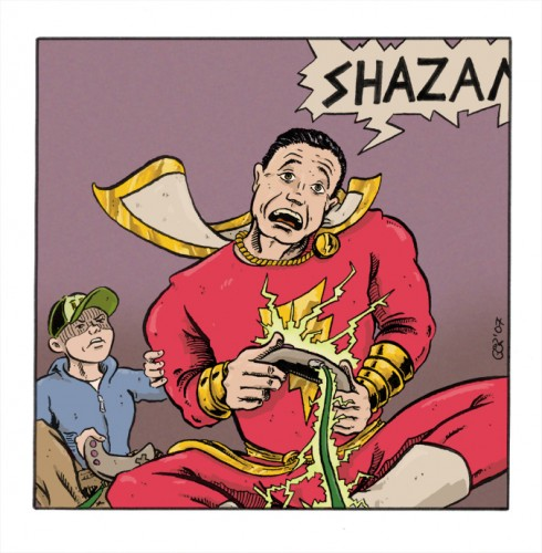 Flash Gordon: Shazam © Contralex