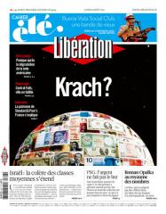 Titelseite der libé vom 08.08.2011